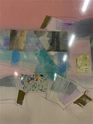 M.RODRIGUEZ Signed Abstract Lithograph