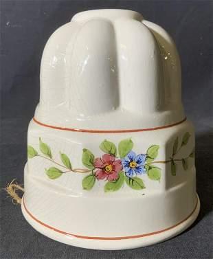 Vintage Ceramic Jello Mold, Italy