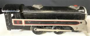 Mid Century Metal Train Model Toy