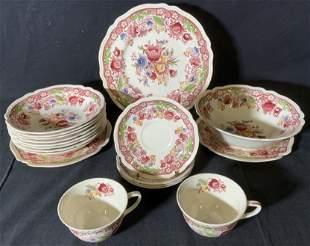 Set 18 Vintage JOHNSON BROS Dorchester Dishes