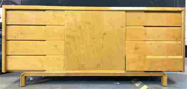 Vtg Danish Modern Wooden Sideboard W Splayed Legs