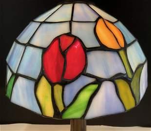 Tiffany Style Desktop Portable Lamp