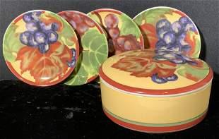 VENDAGE Ceramic Tableware Set 5 , Org box