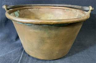 Antique Copper & Iron Cooking Utensil