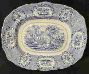 Lot 2 RIDGWAY Blue & White Plates