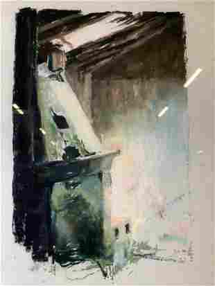 DAVID FINKBEINER Pastel Drawing