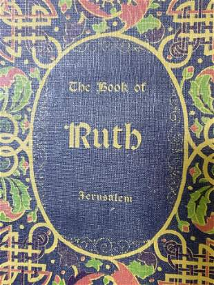 The Book of Ruth in Hebrew & English