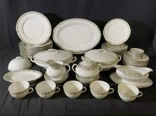 Set 59 CZECHOSLOVAKIA Porcelain Dinnerware