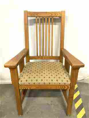 Set 4 Vintage Wooden Dining Chairs