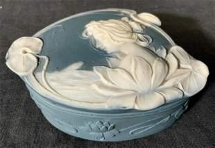 Porcelain Lidded Trinket Box
