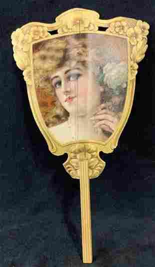 Florence Walton Paper Fan