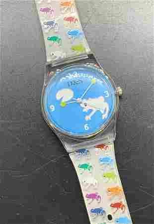 Signed D&S Imp.Japan Movement Frog Fashion Watch