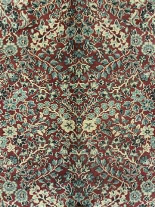 Vintage Oriental Wool Carpet