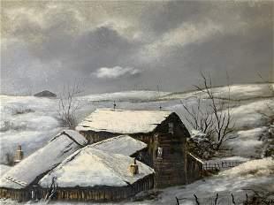 EMILIO AZAROLA Signed Oil Painting