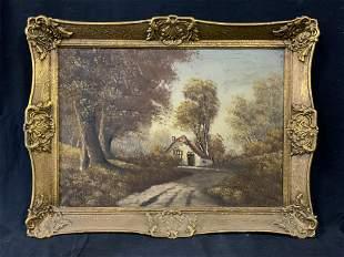 VERHEUL Signed Oil Painting
