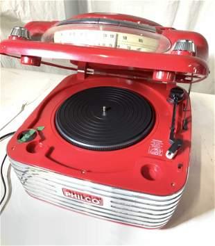 PHILCO Bakelux Retro Style Turntable CD Player
