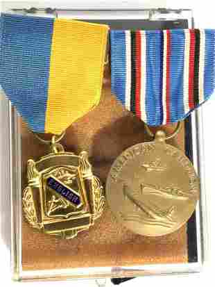 Collectible Vintage Lapel Ribbon Medals 2