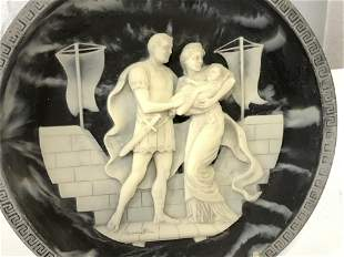 Ltd Ed Cameo INCOLAY Stone Collector Plate, Cert.