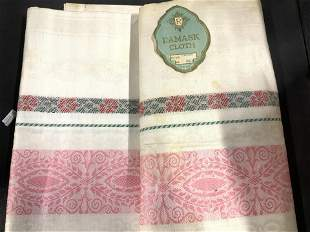 Lot Vintage Table Linens, Embroidery more