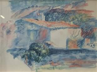 Offset Lithograph AFTER Paul Cézanne Work