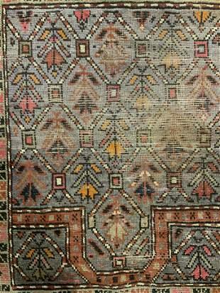 Antique Handmade Turkish Wool Rug