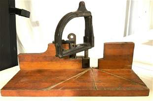Collectible Vintage Stanley No. 115 Miter Box