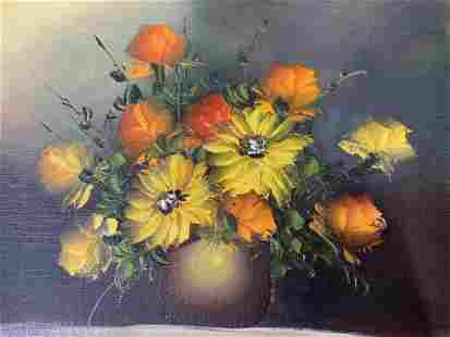 M NIKOLAIDES Signed Oil Painting, Still Life