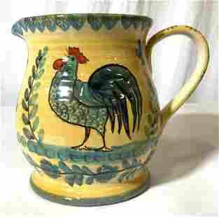 MODIGLIANI Hand Crafted Italian Ceramic Pitcher