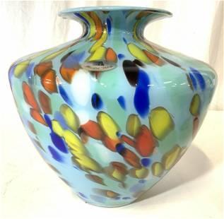 MAESTRI VETRAI Art Glass Vase