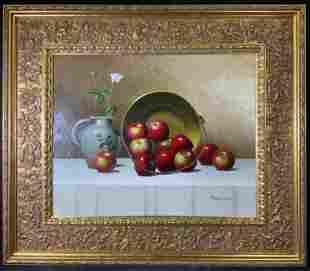 THOMAS SHARP Signed Oil Painting