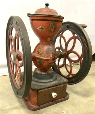 Antique ENTERPRISE MFG. CO Coffee Mill