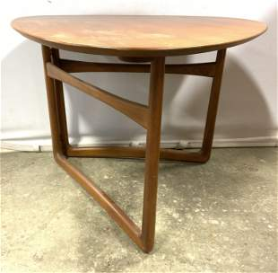 MCM Collapsible Wooden Side Table