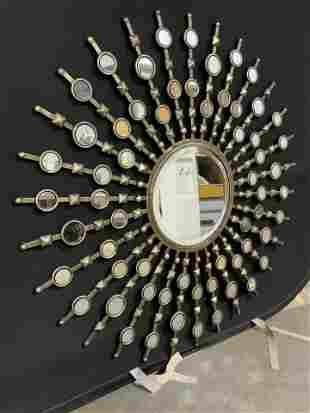 UTTERMOST Beveled Sunburst Wall Mirror