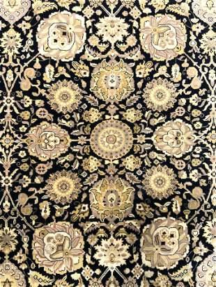 Vintage Handmade Oriental Wool Room Sz Rug
