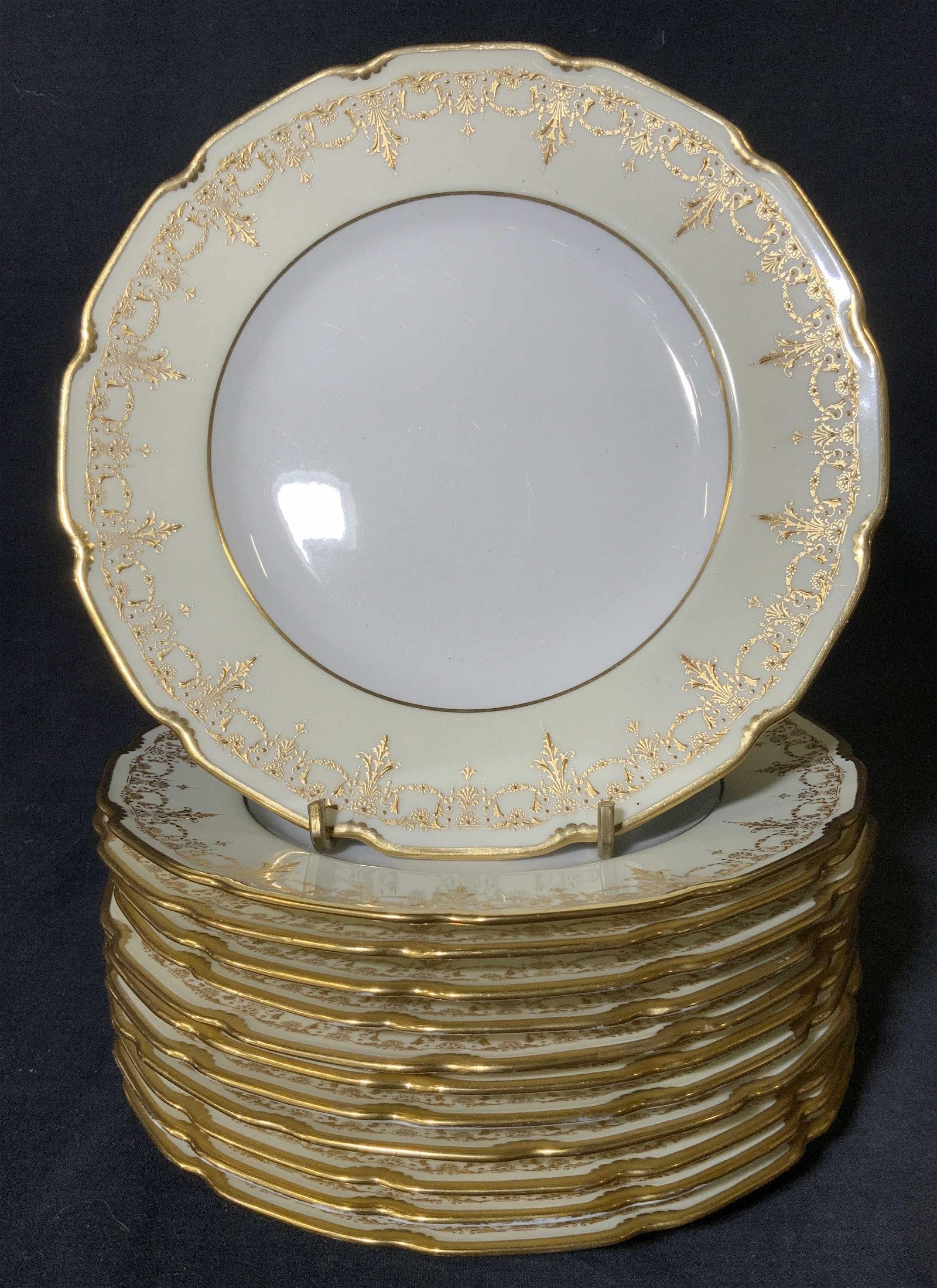 Set 12 Vintage ROYAL DOULTON Porcelain Plates