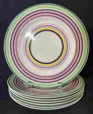 Set 7 FISHS EDDY Ceramic Plates