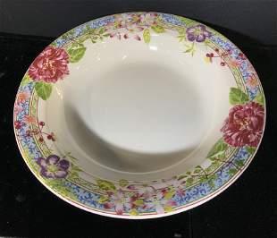 GIEN France Millefleurs Porcelain Bowl