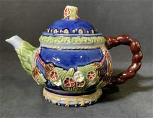 Vintage CBK Majolica Teapot