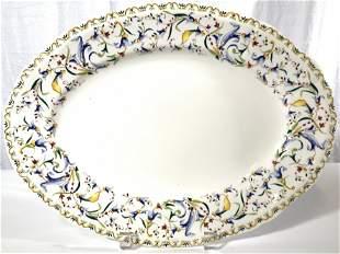GIEN FRANCE Toscana Porcelain Platter