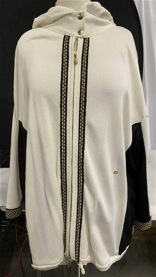 ESCADA ladies Plus Size Cotton/ Poly Jacket, Italy