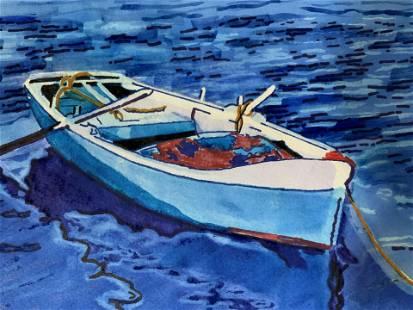 Lot 3 C GREENE Signed Watercolor Paintings 2012