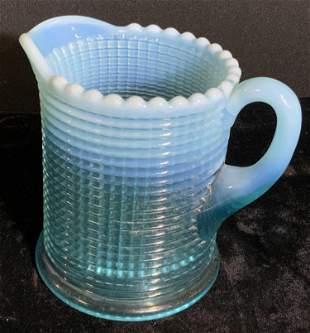 Sky Blue Bubble Glass Pourer, Collectibles