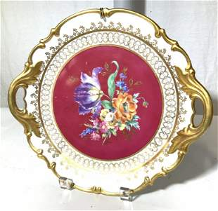 ROYAL VIENNA JKW CARLSBAD Porcelain Plate