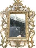 Gilt Bronze Baroque Frame with Mirror