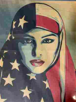 SHEPERD FAIREY We the People Offset Lithograph
