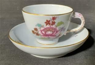 HEREND Porcelain Teacup & Saucer