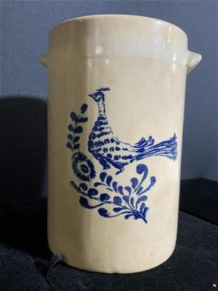 GEORGES BRIARD Porcelain Planter W Handles