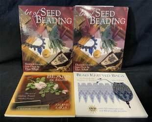 Group Lot 4 Beading Books