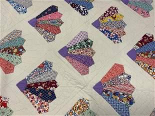 Collectible Handmade Cotton Double Sz Quilt