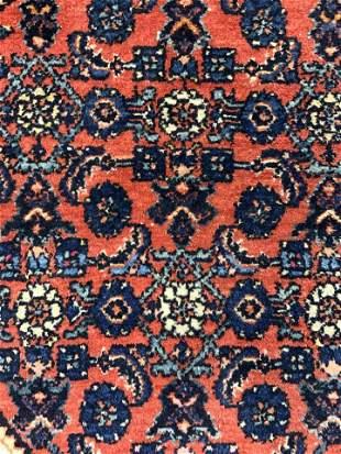 Vintage Handmade Oriental Wool Rug